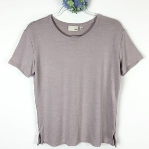 Aritzia Wilfred Free Lavender Top S